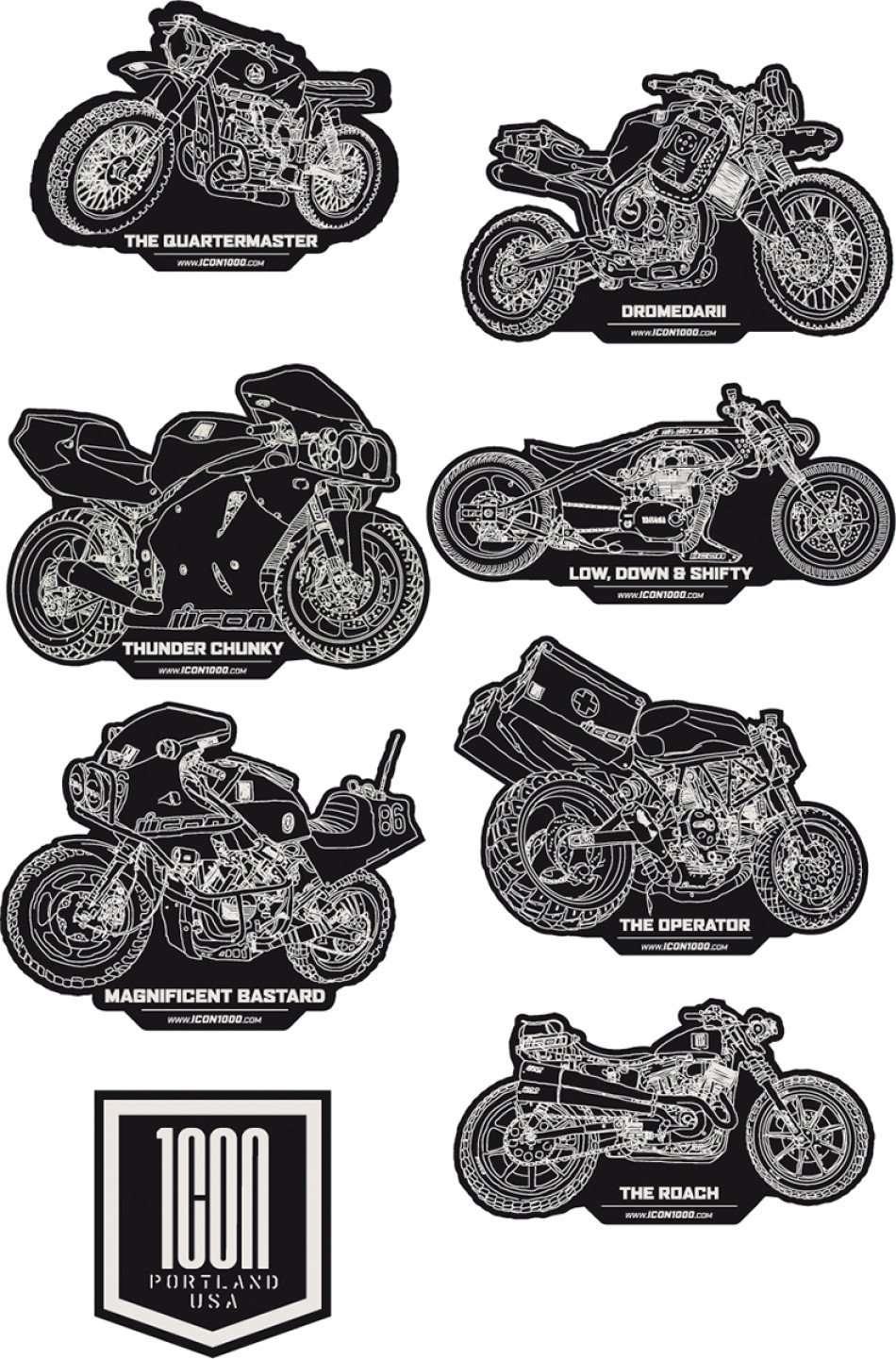 россии фото наклеек животных на мотоцикл ночи