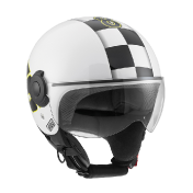 AGV Bali Copter Vale 46 белый мотошлем