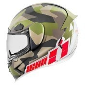 Icon Airframe Pro Deployed Matte Camo матовый мотошлем