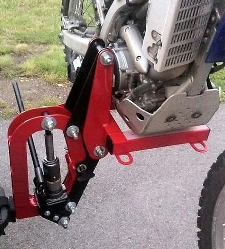 Как перевезти мотоцикл в газели